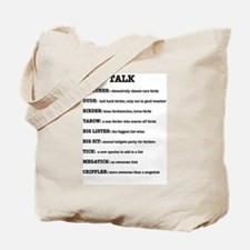 """BIRD TALK"" BIRDER BAG"