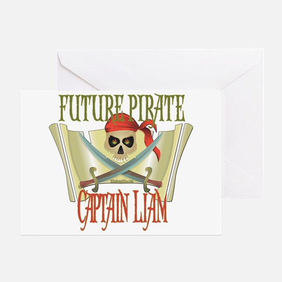 Captain Liam Greeting Card