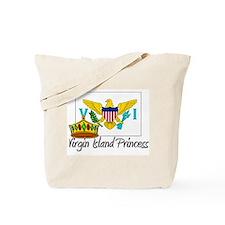 Virgin Island Princess Tote Bag
