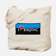 """I LOVE BIRDING"" BIRDER BAG"