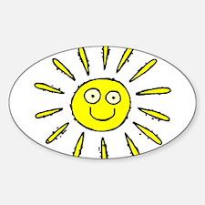 SUN (41) Oval Decal