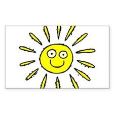 SUN (41) Rectangle Decal