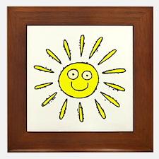 SUN (41) Framed Tile