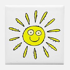SUN (41) Tile Coaster