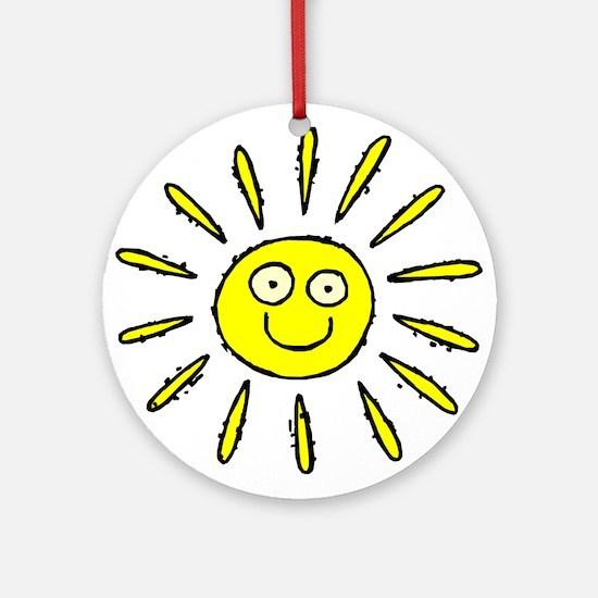 SUN (41) Ornament (Round)