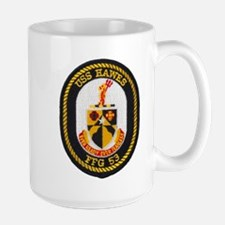 USS HAWES Large Mug