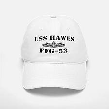 USS HAWES Baseball Baseball Cap