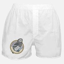 Barred Owl Boxer Shorts