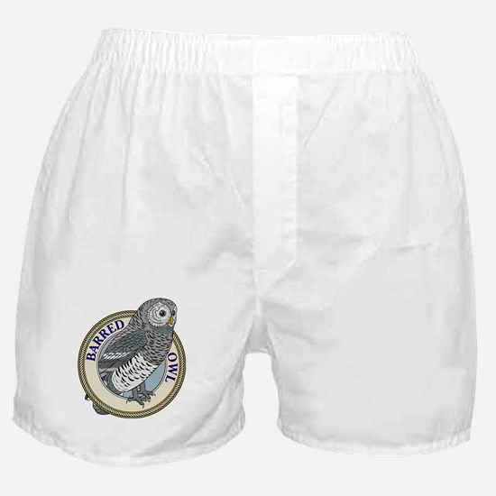 Barred Owl Boxer Shorts
