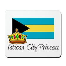 Vatican City Princess Mousepad
