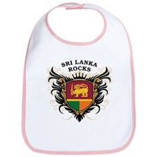 Sri Lanka Rocks Bib