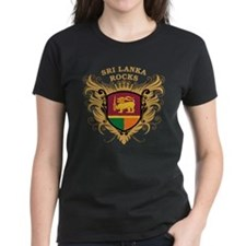 Sri Lanka Rocks Tee