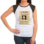 Buckskin Frank Women's Cap Sleeve T-Shirt