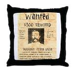 Buckskin Frank Throw Pillow