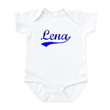 Vintage Lena (Blue) Infant Bodysuit