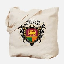 Proud to be Sri Lankan Tote Bag