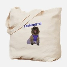 Cairn Terrier Fashionista Tote Bag