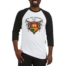 Number One Sri Lankan Dad Baseball Jersey