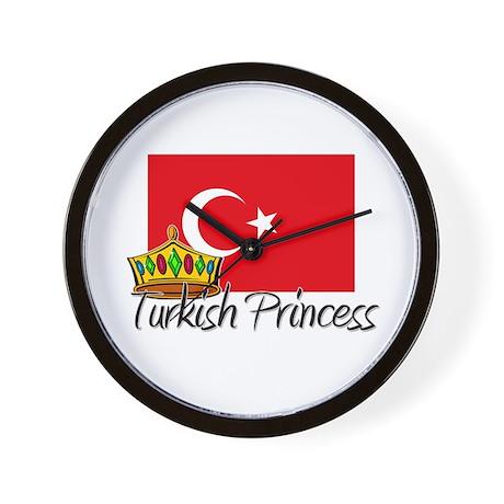 Turkish Princess Wall Clock