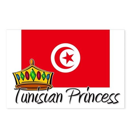 Tunisian Princess Postcards (Package of 8)