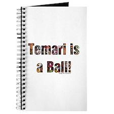 Temari is a Ball! Journal