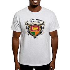 Number One Sri Lankan Grandpa T-Shirt