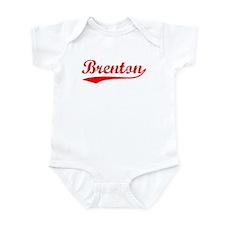 Vintage Brenton (Red) Infant Bodysuit