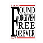 FOUND, FORGIVEN... Postcards (Package of 8)