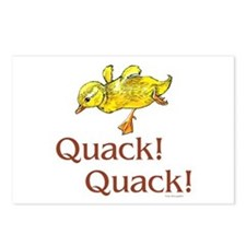 Quack! Quack! Postcards (Package of 8)