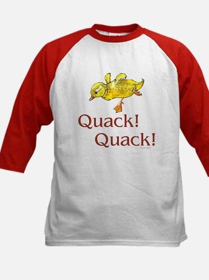 Quack! Quack! Kids Baseball Jersey