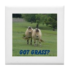 Got Grass? Tile Coaster