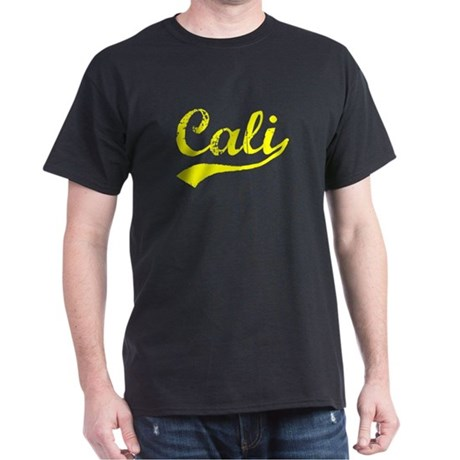 Vintage Cali (Gold) Dark T-Shirt