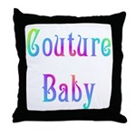 Couture Baby Throw Pillow