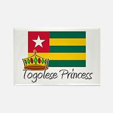 Togolese Princess Rectangle Magnet