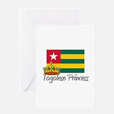Togolese Princess Greeting Card