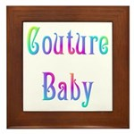 Couture Baby Framed Tile
