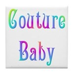 Couture Baby Tile Coaster