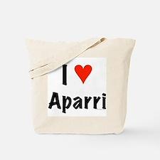 I love Aparri Tote Bag