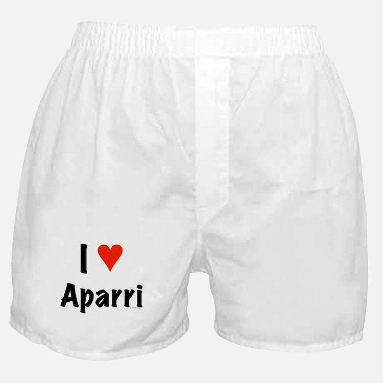 I love Aparri Boxer Shorts