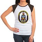 USS JACK WILLIAMS Junior's Cap Sleeve T-Shirt
