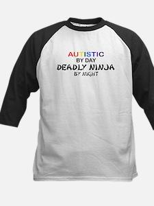 Autistic Deadly Ninja by Night Tee