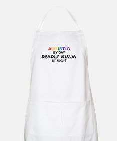 Autistic Deadly Ninja by Night BBQ Apron