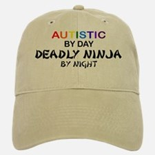 Autistic Deadly Ninja by Night Baseball Baseball Cap