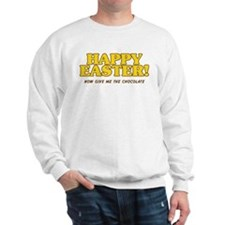 Happy Chocolate Easter Sweatshirt