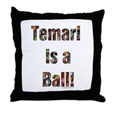 Temari is a Ball! Throw Pillow