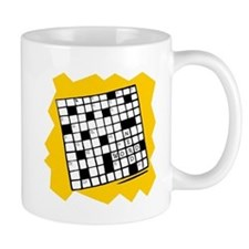 Word Nerd Crossword Coffee Mug