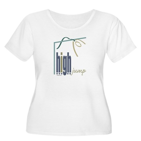 High Jumper Women's Plus Size Scoop Neck T-Shirt