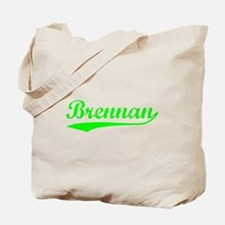 Vintage Brennan (Green) Tote Bag