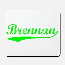 Vintage Brennan (Green) Mousepad