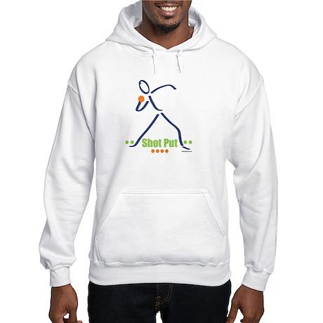 Shot putter Hooded Sweatshirt